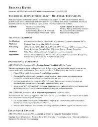 Help Desk Resume Examples Help Desk Cover Letter Sample Cover Letter
