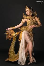 THAILAND 🇹🇭 | Thai National Costume by Miss Earth Thailand 2020