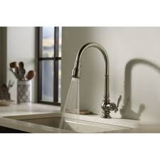 Articulating Kitchen Faucet Kitchen Faucets Kohler Kitchen Faucet With Karbon Articulating