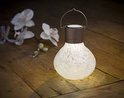 hanging solar patio lights.  Solar Allsop Home And Garden Solar Tea Lantern Handblown Glass With Panel  LED Light WeatherResistant For Outdoor Deck Patio Garden Wedding White  Intended Hanging Patio Lights