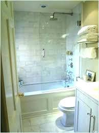shower replacement cost co shower door install cost