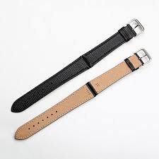 genuine leather watch strap lizard for museum series men and women 21mm