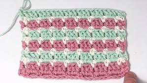 Block Stitch Crochet Pattern Cool Decoration