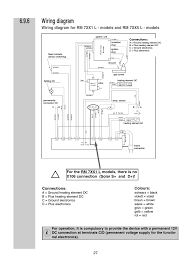wiring diagram connections colours dometic rm 7361 l user wiring diagram connections colours dometic rm 7361 l user manual page 27 28
