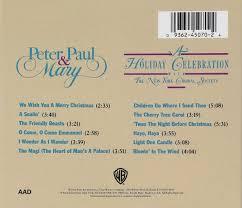 peter paul mary a holiday celebration com music