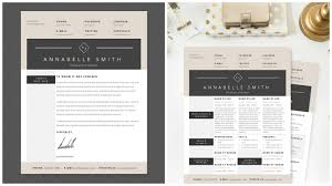 well designed resume examples for your inspiration elegant resume template package by janna lynn creative