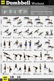 Body Fitness Chart Gym Home Exercise Posters Set Of 3 Workout Chart Now