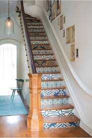 Stairway Wallpaper Design How To Update Your Staircase In Style Interior Design Blog