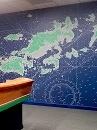Nautical Chart Wall Mural Nautical Chart Wallpaper Nautical Map Wallpaper Nautical