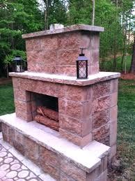diy outdoor fireplace kits uk