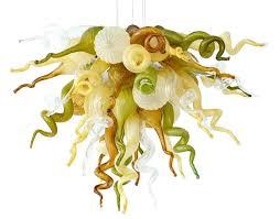 viz glass mini high sierra chandelier artist art
