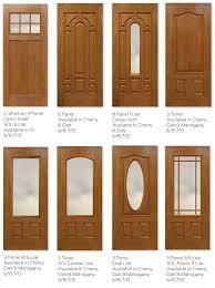 timbergrain fiberglass door panels