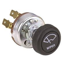 stainless deluxe 12 volt electric wiper universal windshield wiper switch for single motor