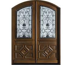 standard custom design wood doors