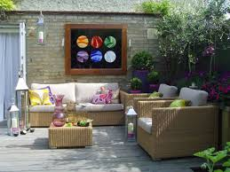medium size of unbelievable decor outdoor wall ideas patio back yard garden outside appealing most common
