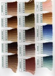 Colour Palette Of Paternayan Persian Yarn Spinning Jenny