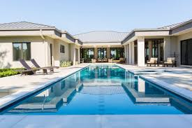 u shaped house plans with pool in middle new 50 upscale backyard outdoor in ground swimming