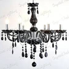 6 arm chandelier black crystal chandelier 6 arms waterford crystal 6 arm chandelier
