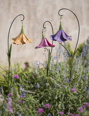 Decorative Garden Stakes Solar Flowers Metal Flowers Photo Details - From  these photo we'd
