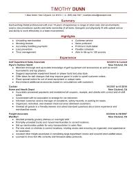 Good Resume Examples Retail Impactful Professional Retail Resume Examples Resources