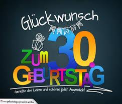 Sprüche Zum 30 Geburtstag Karte Mit Schönem Spruch Zum Nachdenken
