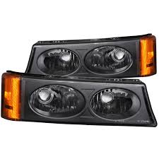 2006 Silverado Parking Light Bulb Details About Fits 03 06 Chevrolet Silverado Hd Parking Signal Lights W Clear Lens Black
