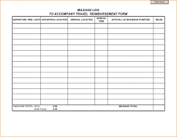 023 Mileage Tracker Form Spreadsheet For Template Best Expense Log
