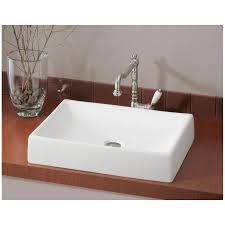 Quattro Overcounter Vessel - Bathroom sink installation