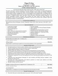 Accounts Receivable Resume Sample Lovely Accounts Payable Resume
