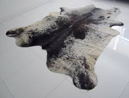 grey and white cowhide rug home design ideas