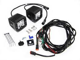 kc hilites c led spot beam light bar quadratec