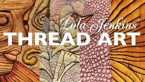 Thread Art | Thread art, Art quilting and Craft & Thread Art Adamdwight.com
