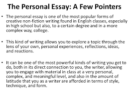 different ldquo types rdquo of creative non fiction writing ppt video the personal essay a few pointers
