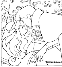 Small Picture Sleeping beauty coloring pages aurora kiss ColoringStar