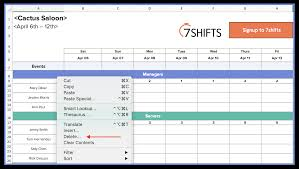 Unique Employee Schedule Excel Spreadsheet Konoplja Co