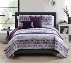 plum adelaide 5 piece quilt set full bedding queen bedding