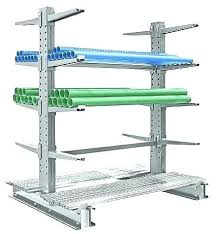 uline metal shelving units ladders cantilever racks lumber in stock uline metal shelving