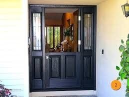 idea craftsman style entry door with sidelights