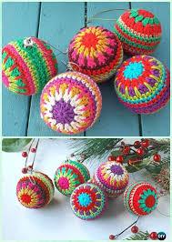 Free Crochet Christmas Ornament Patterns New DIY Decorative Crochet Bauble Ornament Free Pattern Crochet