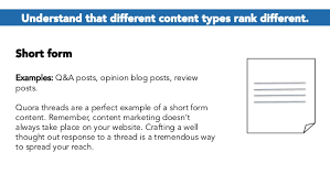 example short form the beginner s guide to blog optimization content promotion