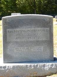 Rev Belton Porterfield (1901-1938) - Find A Grave Memorial