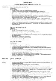 Data Visualization Resume Examples Data Visualization Resume Samples Velvet Jobs 1