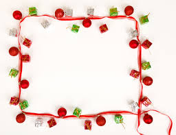 Christmas Photo Frames Templates Free Christmas Frame Backgrounds For Powerpoint Christmas Ppt