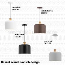 Scandinavische Coppa Hanglamp Wit Met Hout 551700 Kopen