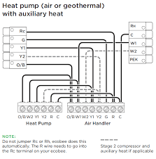 ecobee3 lite heatpump systems ecobee support Ecobee Wiring Diagram ecobee3 lite heatpump systems ecobee wiring diagram for a heat pump