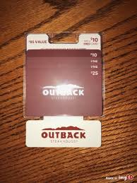 85 outback steakhouse gift card bundle