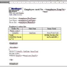 Ms Word Report Word Report Delphi Component C Builder Components And Ms Word