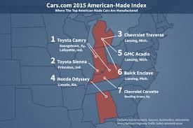 The 2015 American-Made Index | News | Cars.com