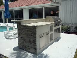 Outdoor Kitchens South Florida Custom Outdoor Kitchen In Florida Image 2 Gas Grills Parts