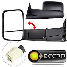 Eccpp Mirrors Power Heated Towing Side View Left Right Passenger Driver Side Pair For 19982001 Dodge Ram 1500 2500 350 Dodge Ram 1500 Dodge Ram Towing Mirrors